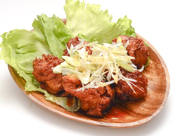 選べるソース(油淋鶏/ユーリンチー)